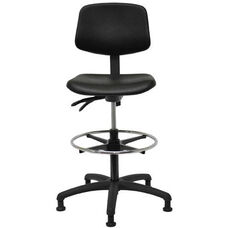 Indy 300 Series Small Back Swivel and Seat Height Stool