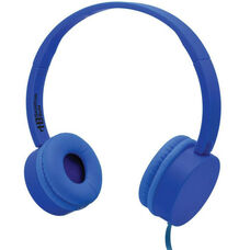 Blue Kidzphonz Headset with In-Line Microphone and AudioSafe™ Adapter Cable