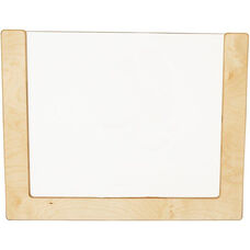 Wooden See-All Wall Frame