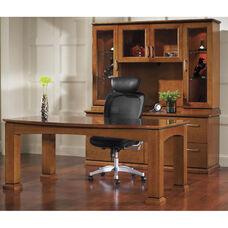 OSP Furniture Mendocino Hardwood Veneer Table Simple Suite