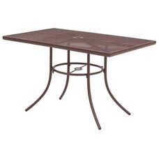 Sullivan Outdoor Steel Mesh Table - 30