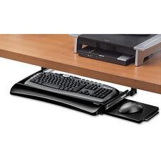 Fellowes® Office Suites Under desk Keyboard Drawer - 20-1/8w x 7-3/4d - Black