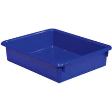 Solid Blue Plastic Letter Tray - 10.5
