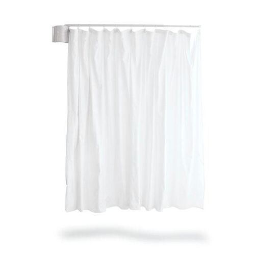 Our Telescopic Curtain Complete With Standard White Vinyl is on sale now.