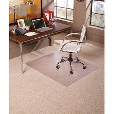 EverLife 60'' Square Medium Pile Anchorbar Chairmat