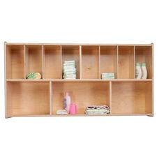 Wall Mountable Wall Organizer Storage Unit with Eleven Individual Compartments - Assembled - 48
