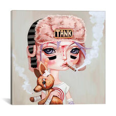 Tank Girl by Melanie Schultz Gallery Wrapped Canvas Artwork