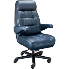 Explorer High Back Office Chair with Headrest - Fabric