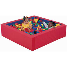 Multicolor Corral Ball Pool with Plastic Balls
