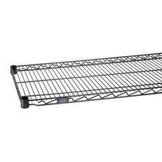 Black Epoxy Standard Wire Shelf - 18