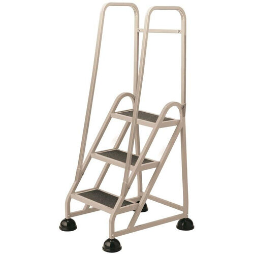 Our Stop Step 3 Step Ladder with Double Handrail - Beige is on sale now.