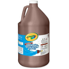 Crayola Washable Paint - 1 Gallon - Brown