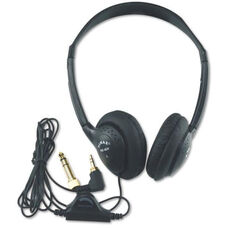 Personal Stereo Headphones with Six Foot Cord and Fully Adjustable Molded Plastic Headband - 8