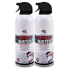 Read/Right Non-Flammable Compressed Gas Dusters - Pack Of 2