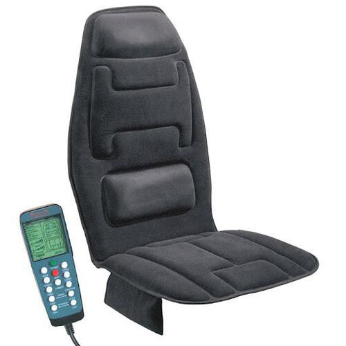 Our 10-Motor Massage Seat Cushion with Heat - Black is on sale now.