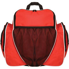Deluxe All-Purpose Backpack in Scarlet