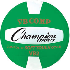 VB Pro Comp Official Size and Weight Volleyball - Green and White