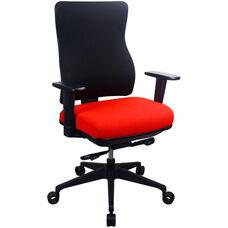 Tempur-Pedic® Spring Task Chair with Fabric Back - Bullseye