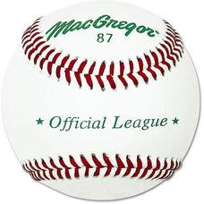 MacGregor® #87SP Official League Baseballs - 1 Dozen