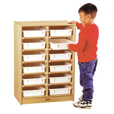 12 Paper-Tray Cubbie Storage Unit