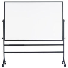Contemporary Reversible Markerboard Board with Tuxedo Black Powder Coated Frame
