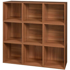 Niche Cubo Wooden Storage Case - Set of 9 Cubes - Cherry