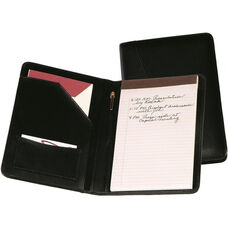 Junior Writing Portfolio Organizer - Sedona New Bonded Leather - Black