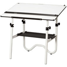 Onyx Metal Drawing Table - 42