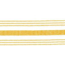 Set of 12 Farm Stripe 18'' x 22'' Cloth Napkin - Gold