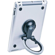 MultiStand for Various Generation iPads - Clear Shell with Black and Gray Ring