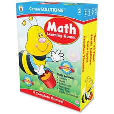Carson-Dellosa Publishing Grade 2 Math Learning Games