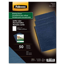 Fellowes Grain Presentation Covers - Pack Of 50