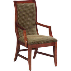 636 Arm Chair w/ Upholstered Back & Seat - Grade 1