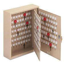 SteelMaster® Locking Two-Tag Cabinet - 240-Key - Welded Steel - Sand - 16 1/2 x 4 7/8 x 20 1/8
