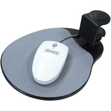 Under-Desk Mouse Platform - Black