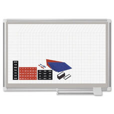 Bi-Silque Dry-Erase Magnetic Planning Board - 36