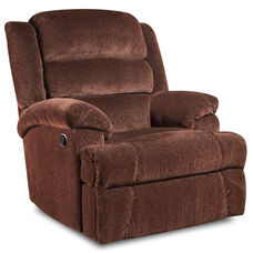 Big & Tall 350 lb. Capacity Aynsley Claret Microfiber Recliner