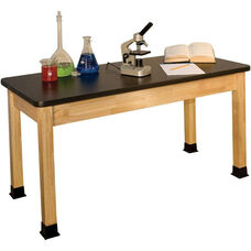 Rectangle Shaped Chemical Resistant Science Table - 30