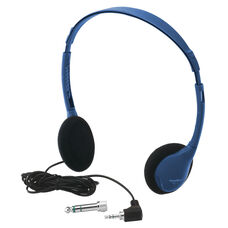 Kids Blue Personal Mono/Stereo Headphone