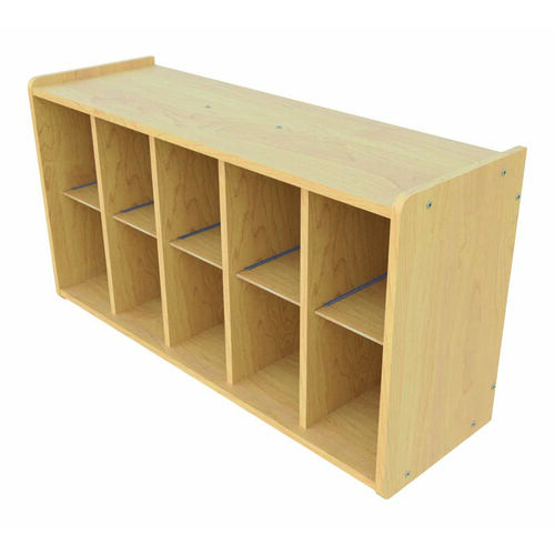 Our 1000 Series Wall Mounted Coat Rack Storage with 10 Cubbies - Assembled is on sale now.