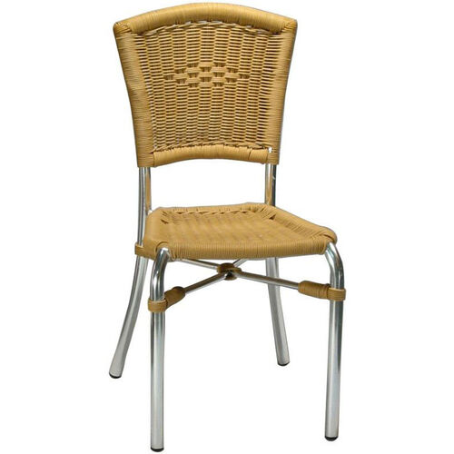Our Honey Rattan Armless Rattan Patio Chair - Honey Rattan is on sale now.