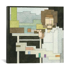Bob Ross #1 by Adam Lister Gallery Wrapped Canvas Artwork - 26
