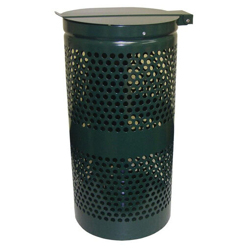Aluminum Receptacle With Stainless Steel Lid