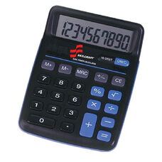 Skilcraft 10-Digit Portable Desktop Calculator