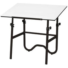 Onyx Table with Black Base and White Top 30