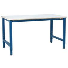 Premium 6,600 lb Capacity Laminate Top Workstation Production Bench - 48