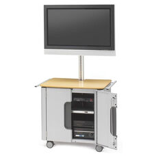 Flat Panel Designer Cabinet Cart for 30
