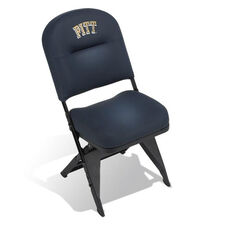 VIP Series Upholstered Seat and Back Folding Chair with Leg Covers
