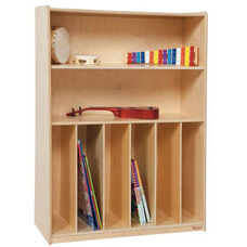 Tip-Me-Not Multi-Purpose Healthy Kids Plywood Bookcase - Assembled - 36