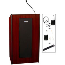 Presidential Plus Wireless 50 Watt Sound Lectern - 25.5